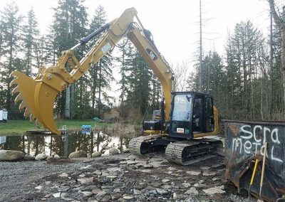 Nyund Inc. Digging Services in Clark County WA